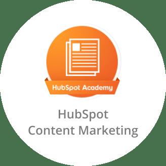 HubSpot Academy Certificate in Content Marketing