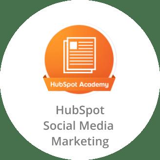 HubSpot Academy Certificate in Social Media Marketing